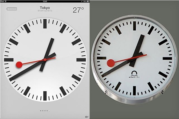 Apple-Swiss-Clock