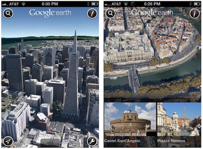 Google Earth 7 3D