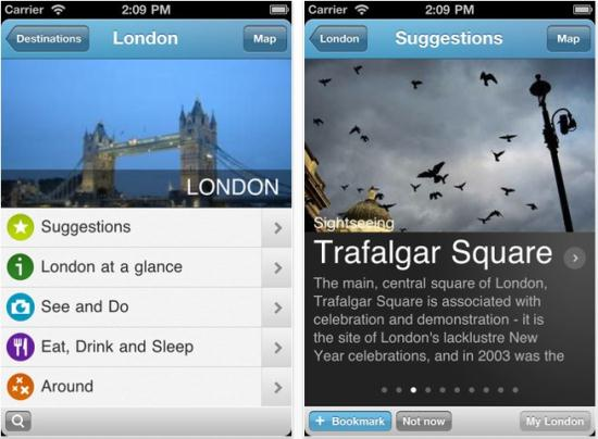 London Travel Guide by Triposo