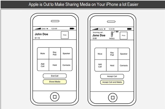 Apple-media-sharing-patent