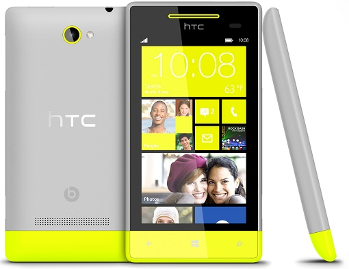 HTC-8S-Yellow