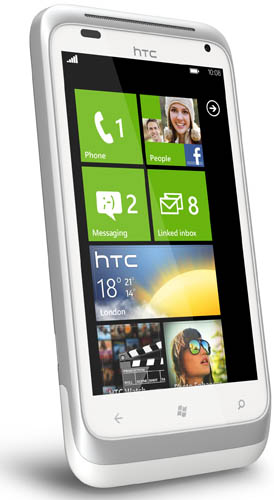 htc radar windows phone mango update india