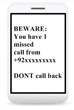 how to call back missed call from employer