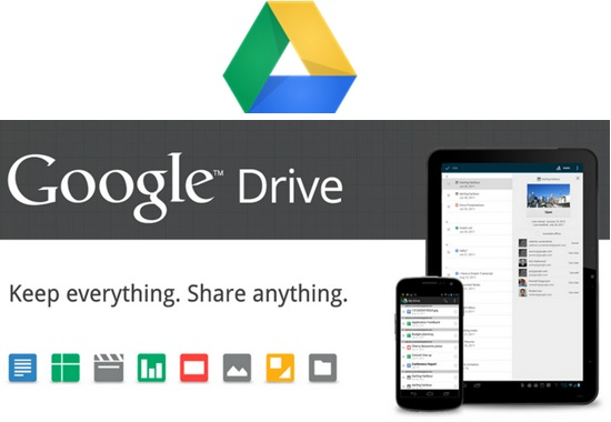 Google Drive launched, offers 5GB of free storage to all