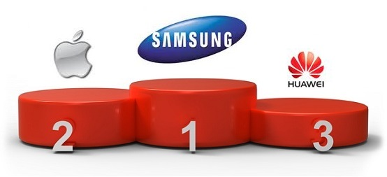 Samsung-Apple-Huawei-Podium