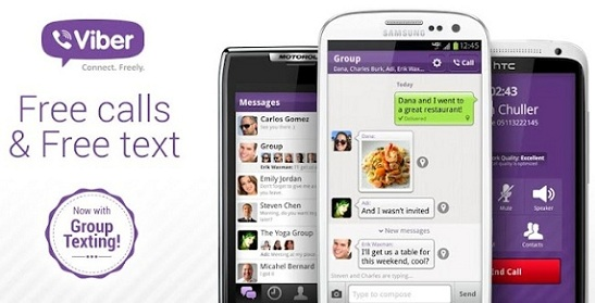 Viber for Android iPhone