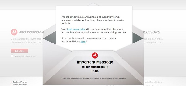 Motorola-India-Shut-Down