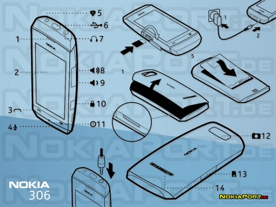 Nokia-306-User-Manual-leaked