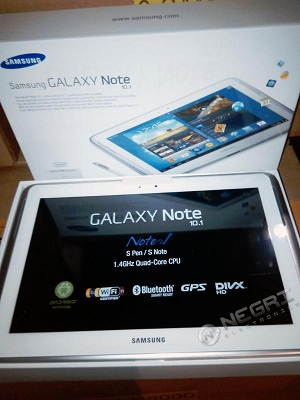 Galaxy Note 101 Leak