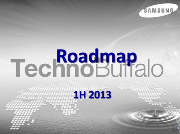 Samsung-2013-Roadmap