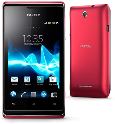 Sony Xperia E & Xperia E Dual - 3.5-inch Android smartphones announced, launch in Q1 2013