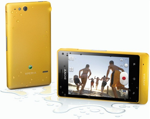 Xperia-Go-Yellow