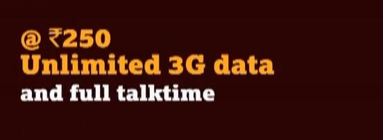 Tata DOCOMO Rs.250 Recharge offers Unlimited 3G Data, Not Really