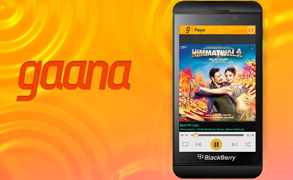 Gaana-BlackBerry-10