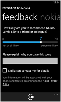 Nokia Lumia 620 feedback