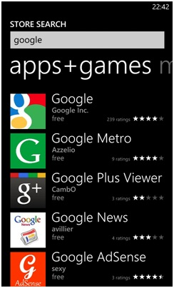 Nokia Lumia 620 google apps