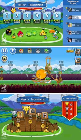Angry Birds Friends launched for Android, iOS for free