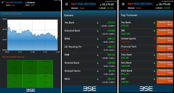 BSE-Android-app
