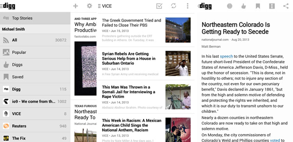 Digg-Reader-Android