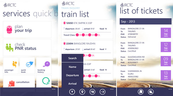 IRCTC-Windows-app