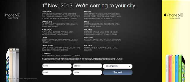 iPhone-5s-india-launch-cities