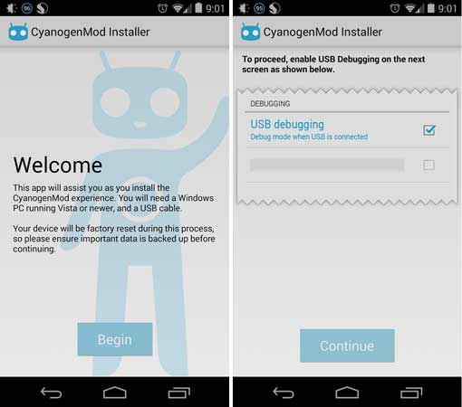 Cynogen-mod-android-app