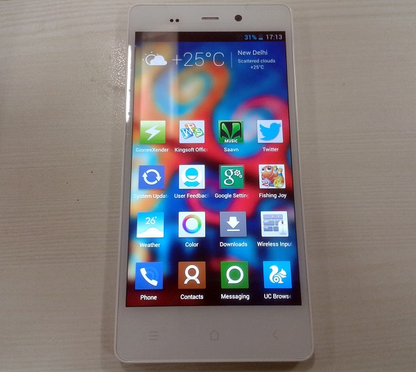 Gionee-E6-Review-Display