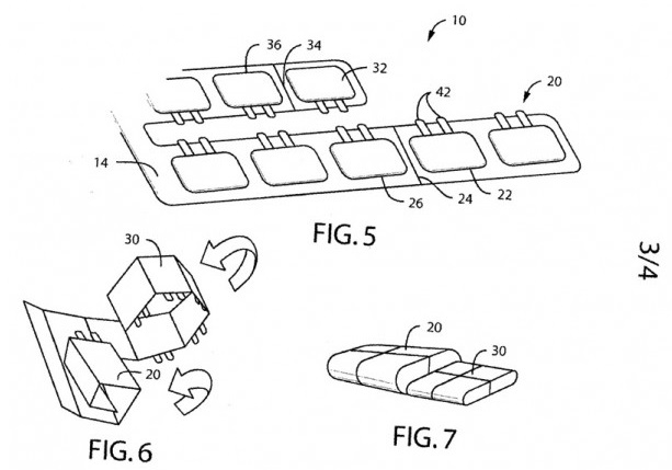Nokia Foldable Battery