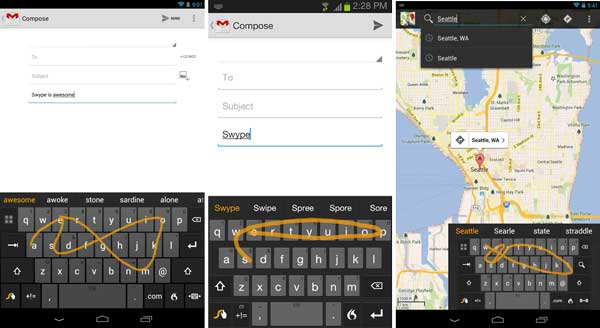 Swype-keyboard-android