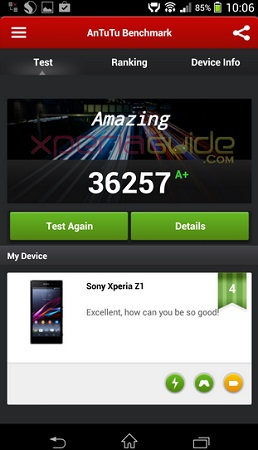 AnTuTu-score-for-the-Sony-Xperia-Z1-LTE