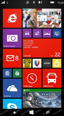Windows Phone on-screen buttons