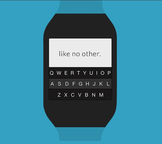 Fleksy Galaxy Gear