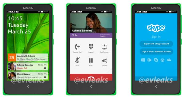 Nokia-forked-Android-UI