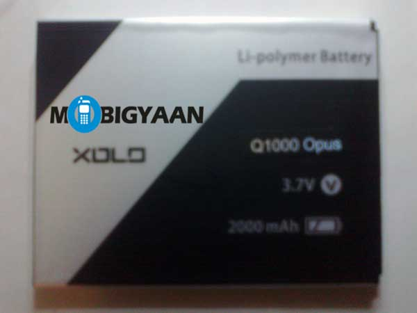 XOLO Q1000 Opus battery