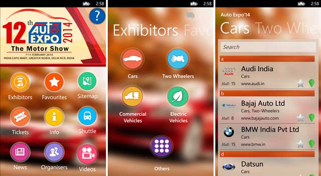 Auto-car-expo-2014-Windows-phone