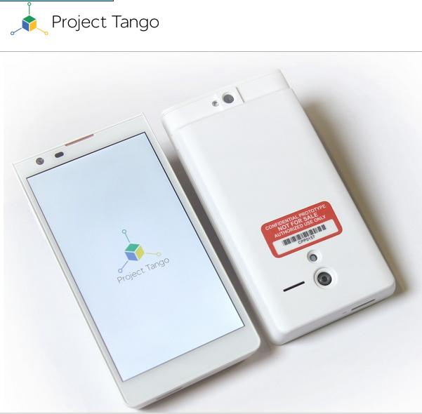 Google Project Tango announced: 200 phones with 3D room ...