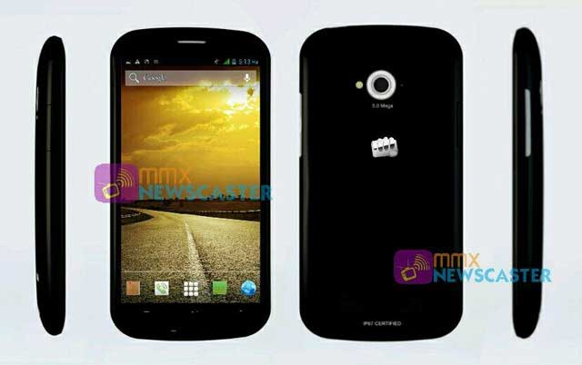 Micromax-splash-press-render-leak