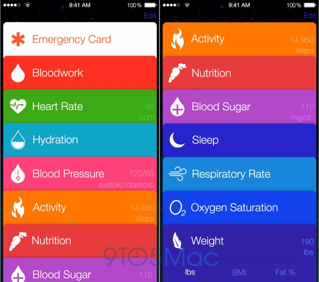Apple Healthbook