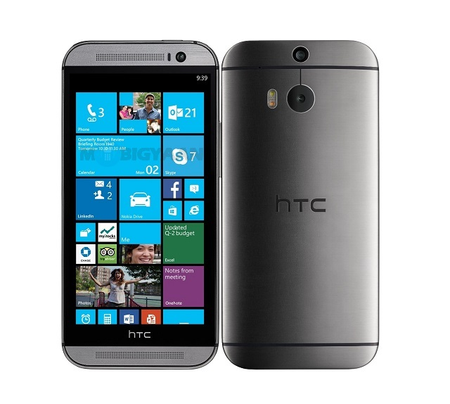 HTC One (M8) Windows Phone Render