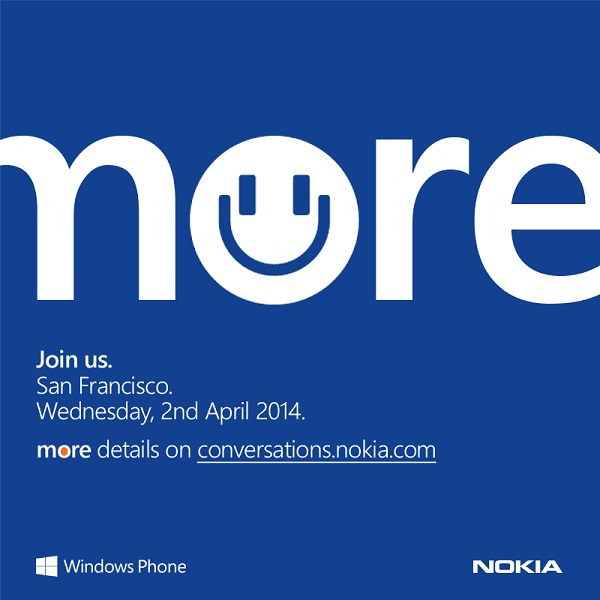 Nokia April 2 event