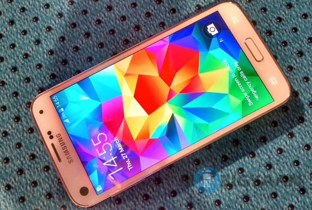 galaxy s5 launch day sales