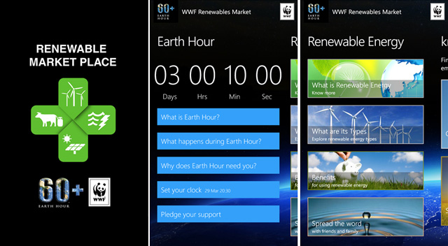 Windows-Earth-hour-app