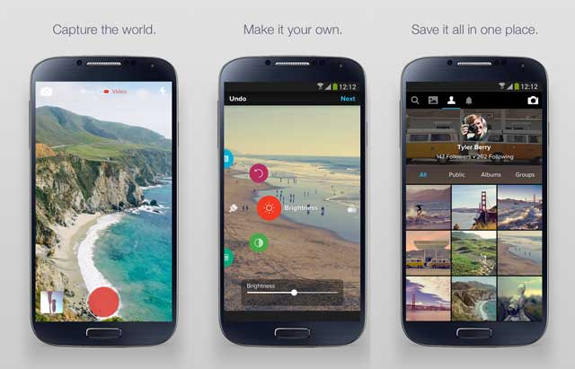 Flickr-version-3-0-android-ios