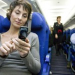 You can now use your mobile phone in the flight, but on flight mode