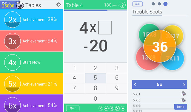 Math-tables-app-ios