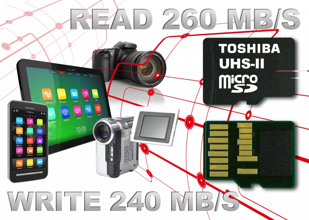 Toshiba fastest memory cards