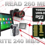 Toshiba's new microSD memory cards are the world's fastest