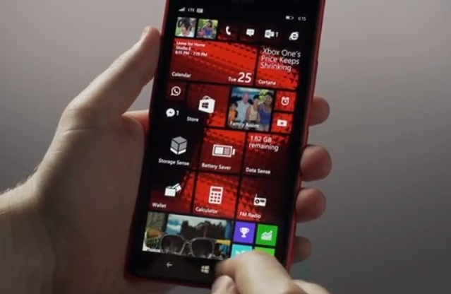 Windows Phone 8.1 video