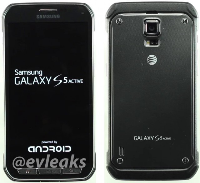 Galaxy S5 Active leaks