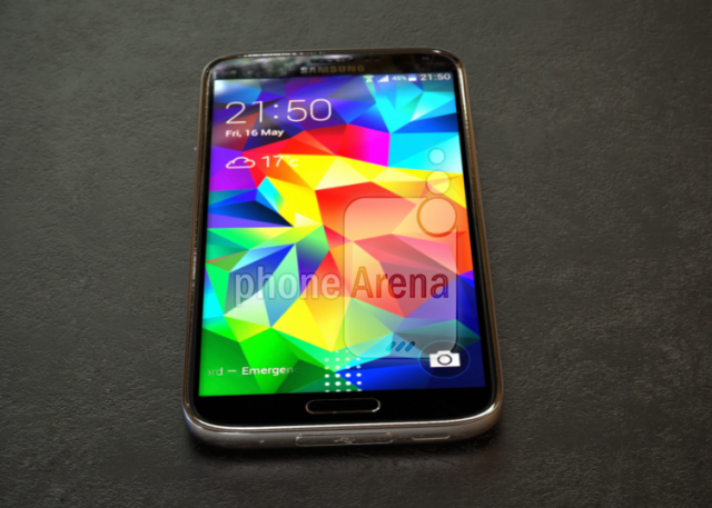 Galaxy S5 Prime live pictures